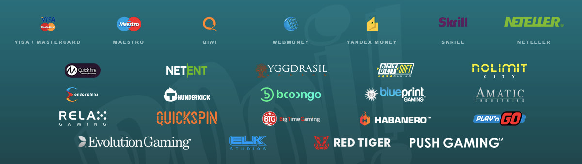 провайдеры и платёжные системы онлайн казино буи