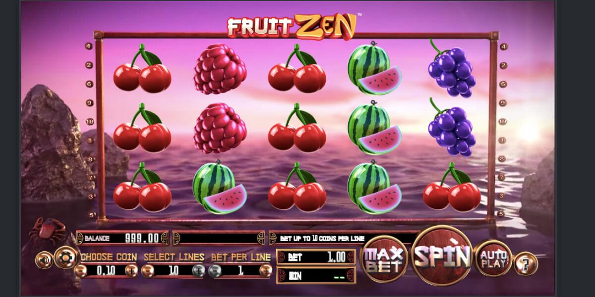 3D слот Fruit Zen
