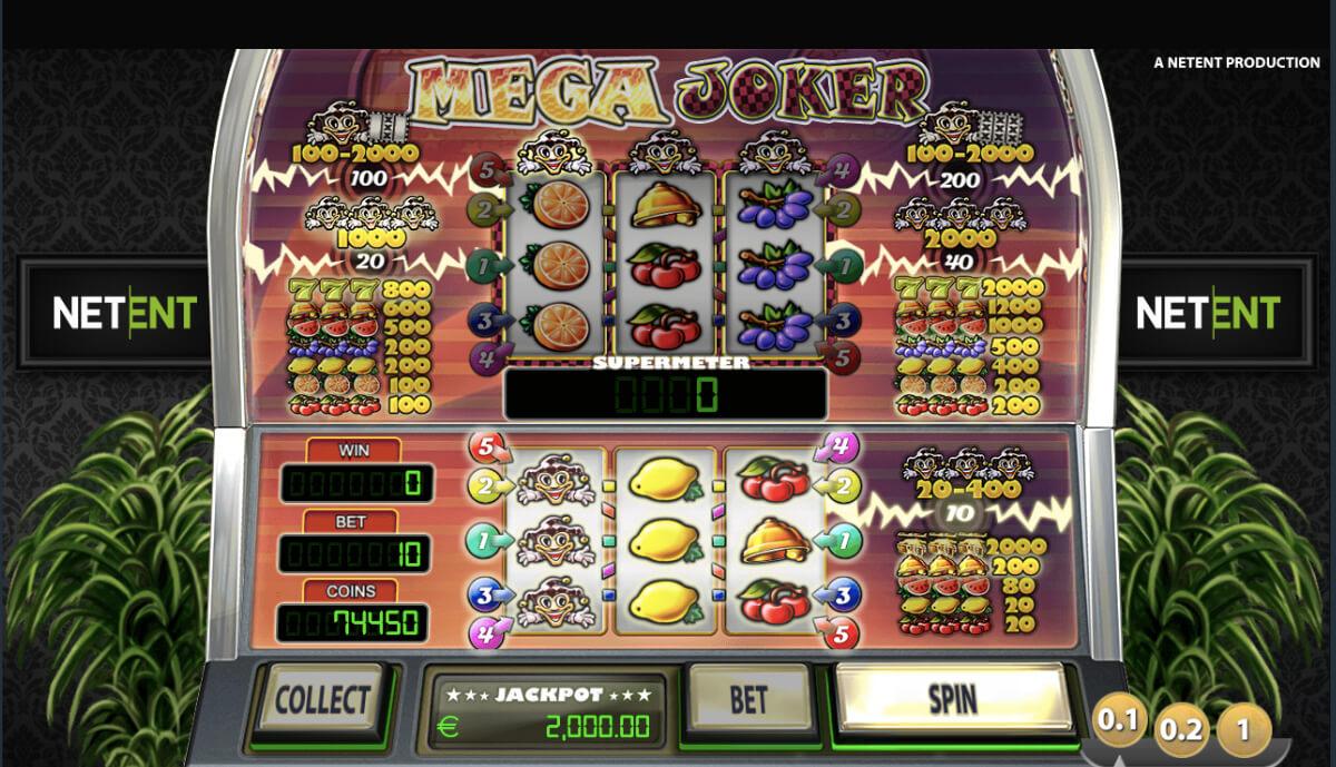 Mega Joker - 777 онлайн слот от Netent