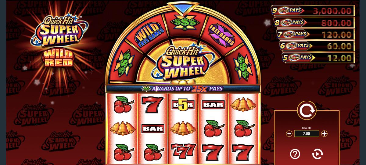 Quick Hit Las Vegas Online Slot